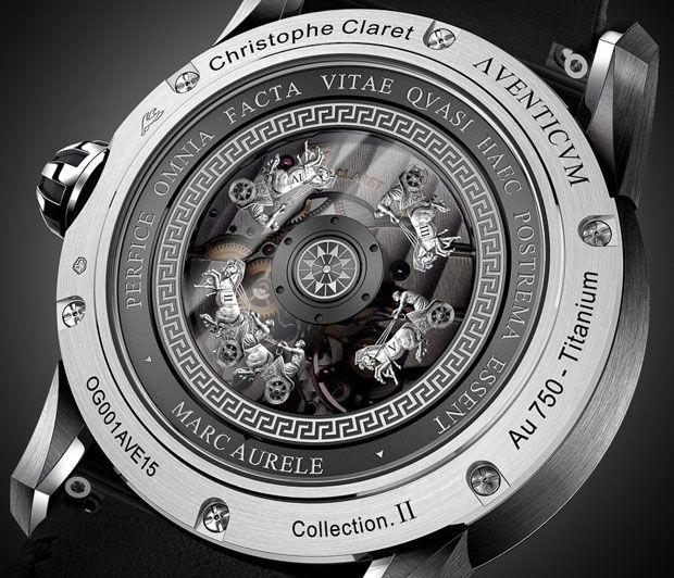 Behold the Christophe Claret Marcus Aurelius Hologram Watch -