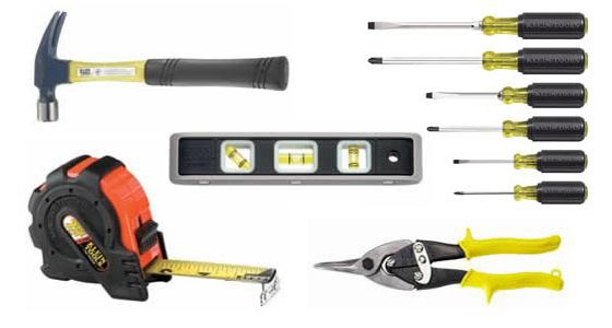 These are some tools carpenters use to construct the objects they are building.    http://toolsreviews.net/2011/04/29/carpentry-tools/