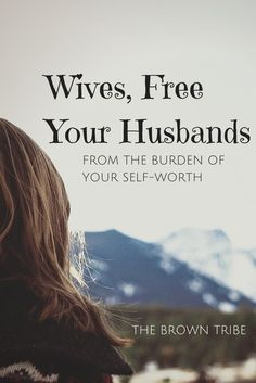 Last week I wrote a post about what wives can do when we feel unattractive to our husbands. It was a call to discard the definitions of a beautiful woman and to remember our identity in Christ. Take hold of the greater truth of who we are and find our worth in God's promises through Christ. Our husbands are not the source of our self-worth. If you think that he is, you desperately need to repent of your idolatry. WHAT?! Idolatry? Yes. Idolatry.   You have placed your husband's