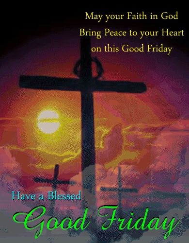 good friday | Blessed Good Friday Ecard For You. Free Good Friday eCards | 123 ...