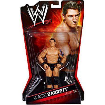 WWE Wrestling Basic Series 12 Wade Barrett Action Figure, Multicolor