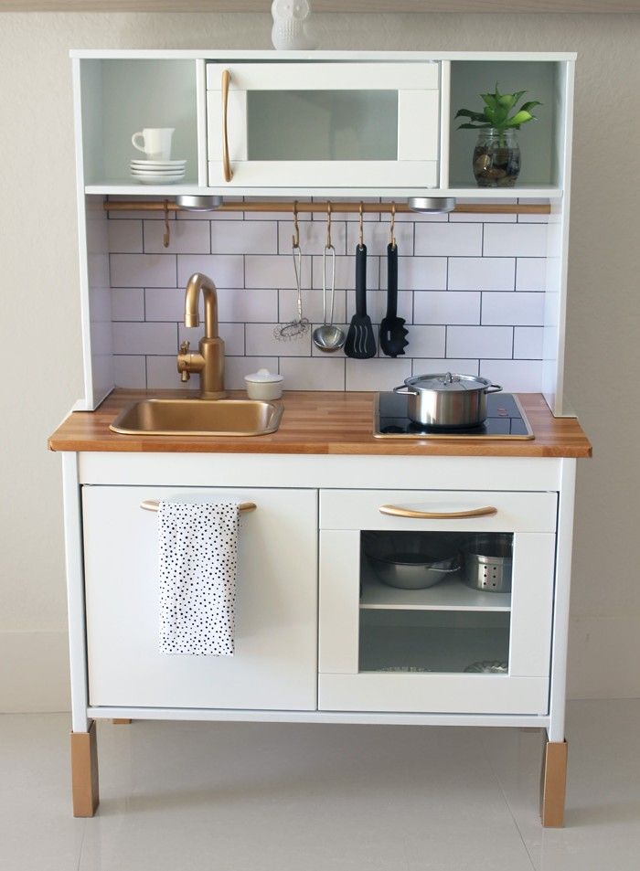 Fancy ikea play kitchen makeover Google Search