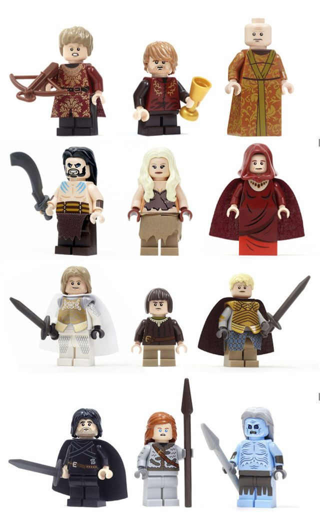 Needs More Dragon: Game Of Thrones LEGO Minifigs