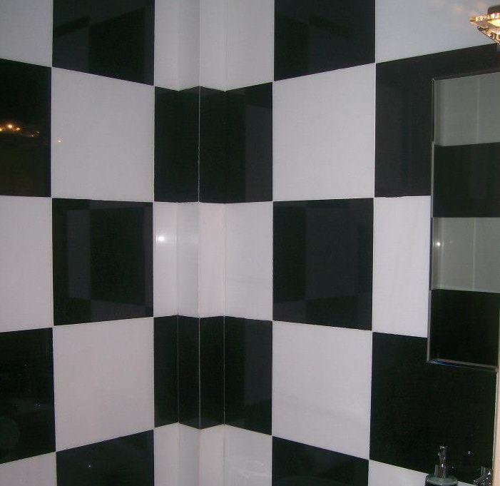 #Chessboard_on_the_wall #marble_Thassos#granite_zimbabwe