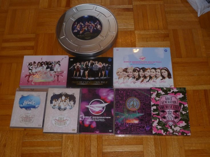 SNSD DVD and Blu-Ray