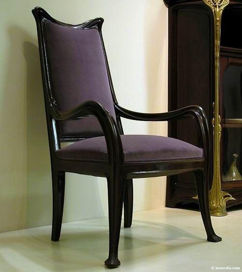 22 best images about mobilier art nouveau on pinterest. Black Bedroom Furniture Sets. Home Design Ideas