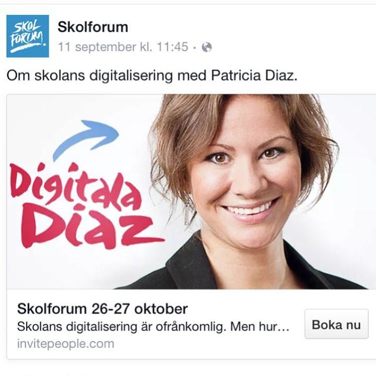 Patricia Diaz Blogg - en av Sveriges vassaste pedagoger med teknik som verktyg, framför allt för språkundervisningen. Många tips och informativa filmer och guider.