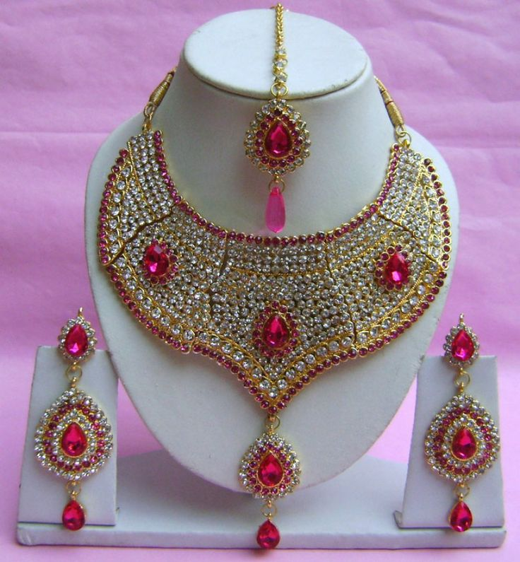 Artificial Bridal Jewellery Sets: 37 Best Jewelry Designs For Eid Images On Pinterest