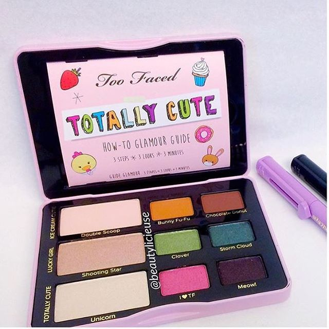 Too Faced's Totally Cute Eye Shadow Collection - #toofaced