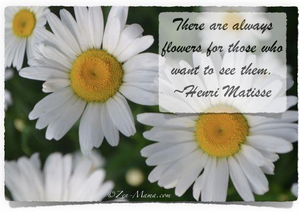 Henri Matisse, a positive thinker!