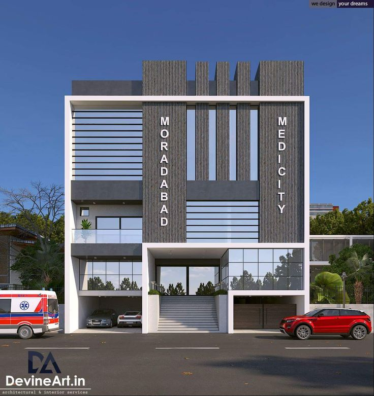 Pin by dwarkadhish co on elevation in 2019 building - Small office building exterior design ideas ...
