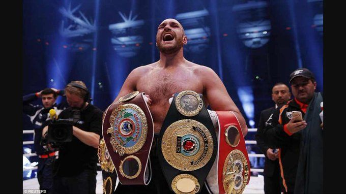 News: Come and Buy your Sperm Heavyweight boxing star Tyson Fury says He is selling