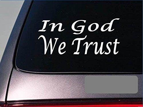 In god we trust e748 tea party second amendment decal v
