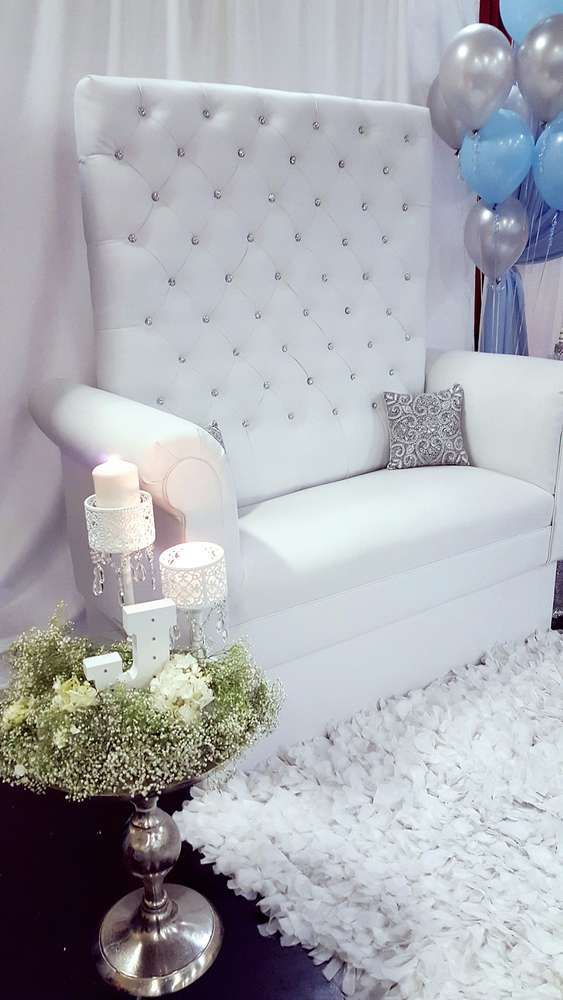 """Glam Baby Boy Baby Shower Inspiration..."" CatchMyParty.com"