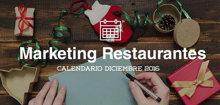 Un mes más, os traemos las principales acciones de marketing para restaurantes que puedes poner en práctica este mes de Diciembre. Navidades, Puente de la Constitución... tienes muchas efemérides, aprovéchalas para llenar de clientes tu restaurante! #accionesdemarketing  #Calendario #Marketing #Navidad #Restaurantes