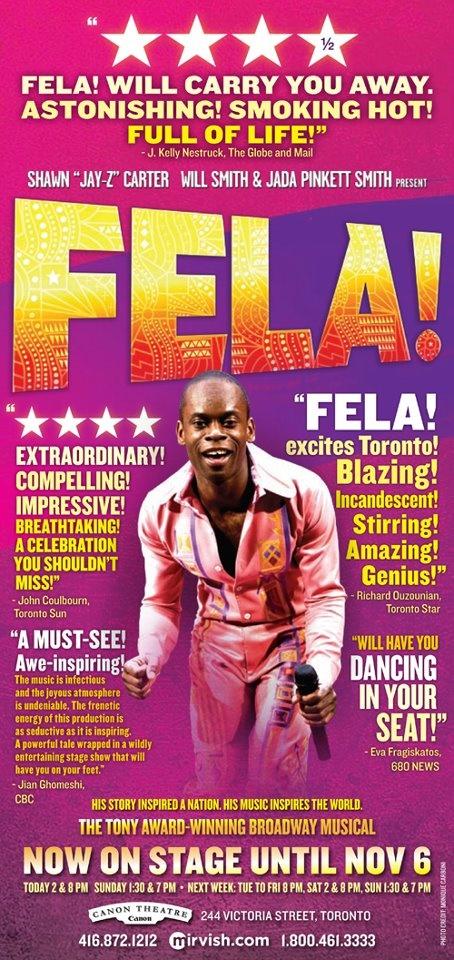 Fela! Brilliant.