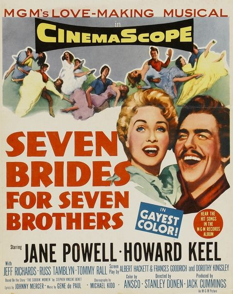 Seven Brides for Seven Brothers movie Jane Powell