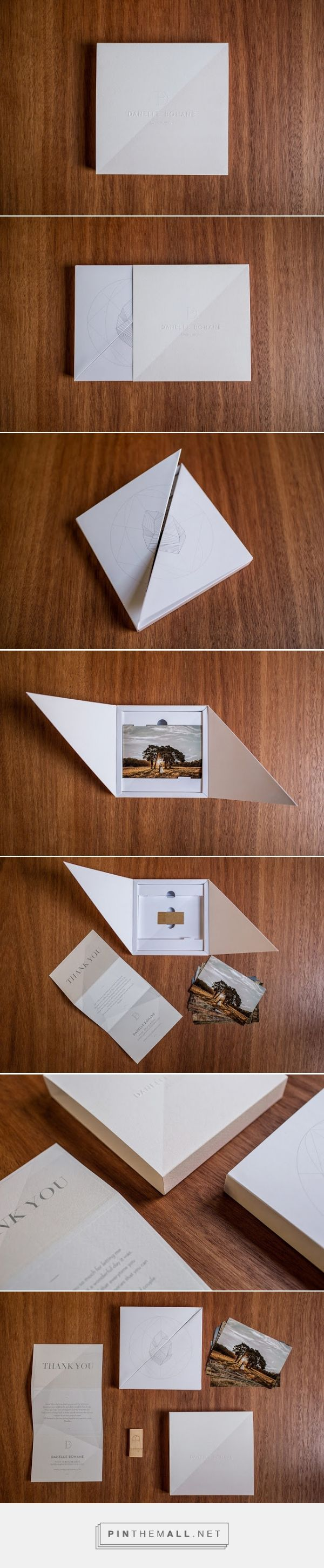 Danelle Bohane - Wedding Package on  Packaging of the World - Creative Package Design Gallery - http://www.packagingoftheworld.com/2015/07/danelle-bohane-wedding-package.html