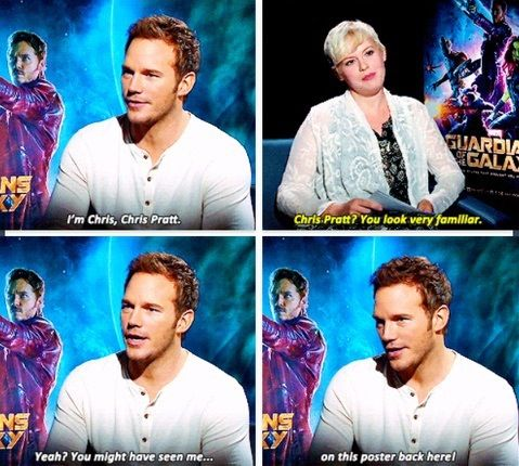 Chris Pratt Interview