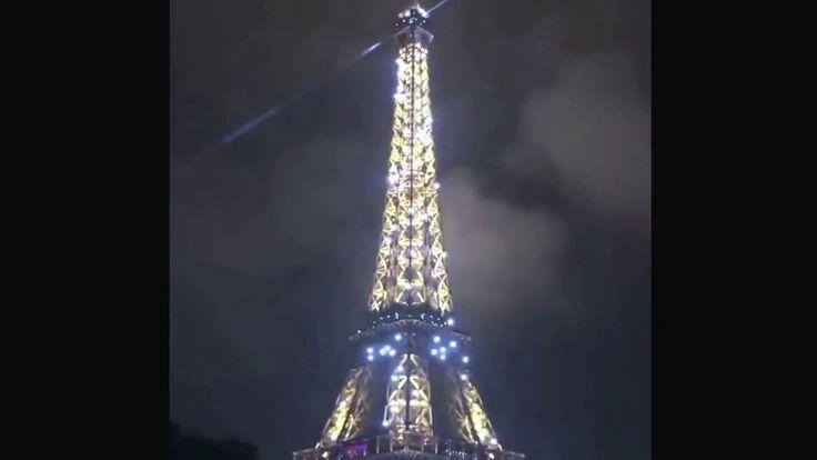 Eiffel Tower Night Show
