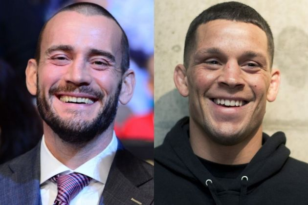 CM Punk: Nate Diaz Is The 'Nicest F*****g Guy' - http://www.lowkickmma.com/News/cm-punk-nate-diaz-is-the-nicest-fg-guy/