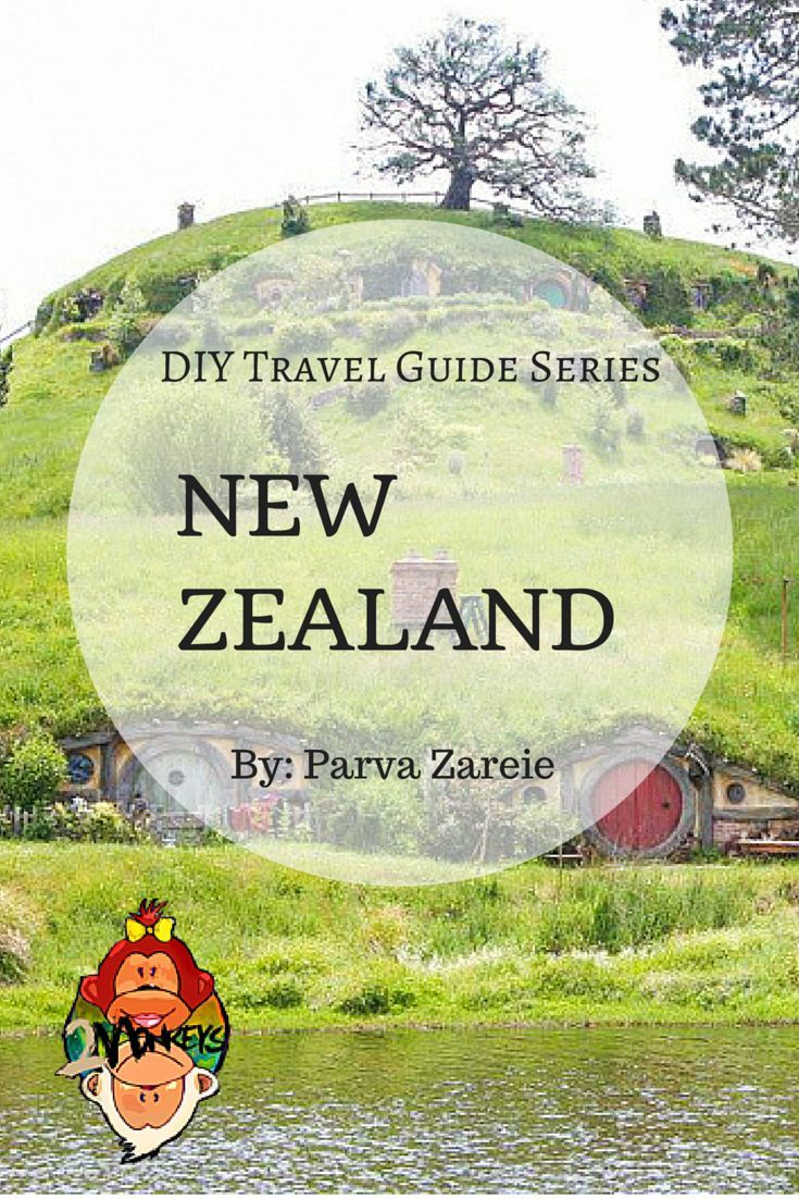DIY Travel Guide to New Zealand. Long known to be an expensive place to visit, New Zealand still remains largely unspoilt and visiting this beautiful country will make you feel like you have stepped back in time. #TravelGuide #NewZealand #TwoMonkeysTravelGroup: