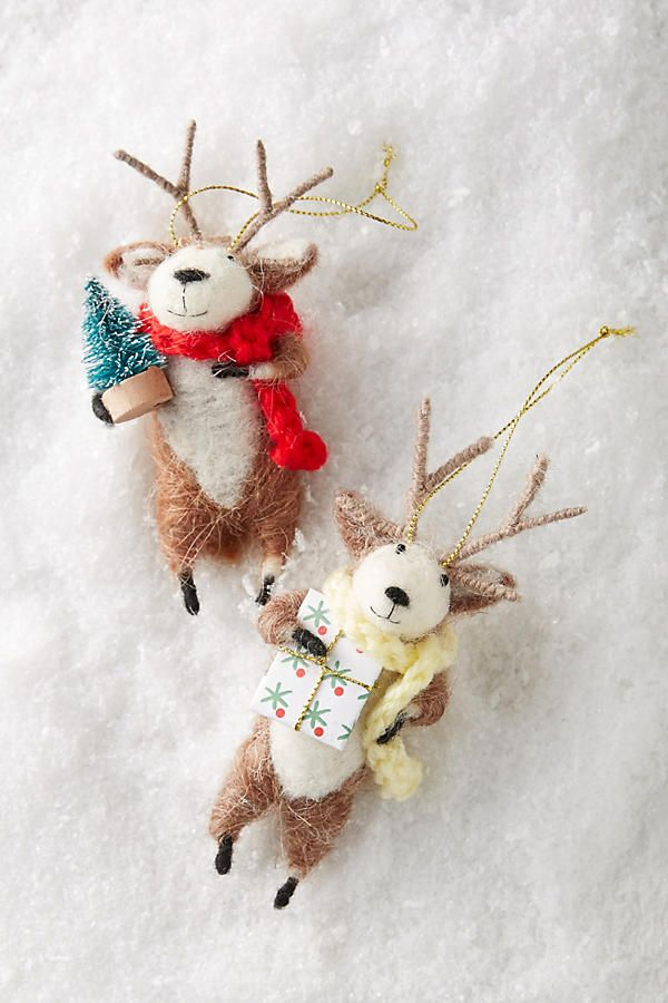 Reindeer Games Ornament