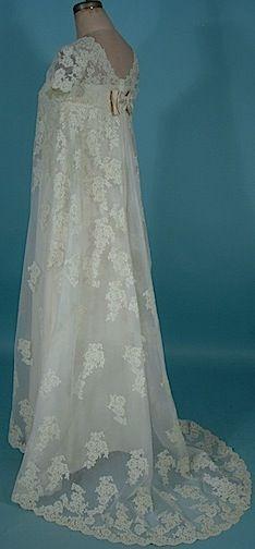 1966 wedding gown