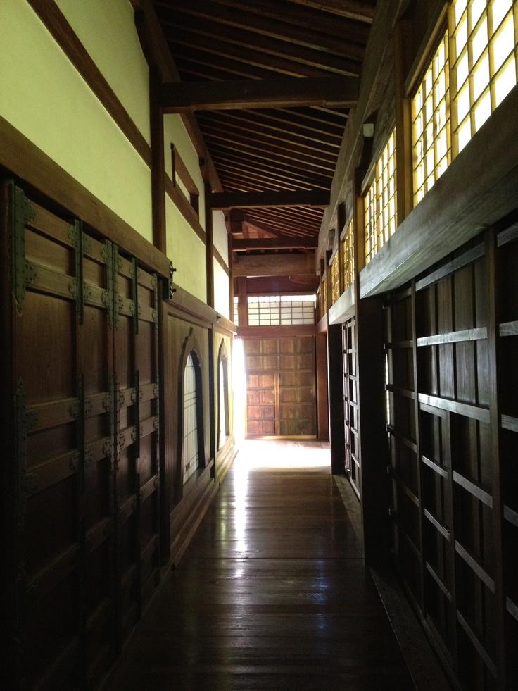 a old Japanese school in Shizutani, Okayama