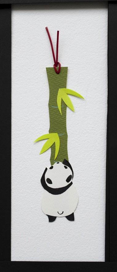 panda- bookmark idea