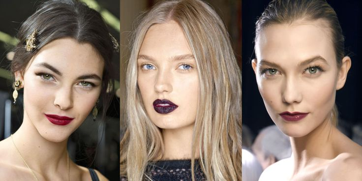 Fall 2015 New Beauty Trends: Deep Red Lips - Best Deep Red Lipsticks and Glosses for Fall 2015