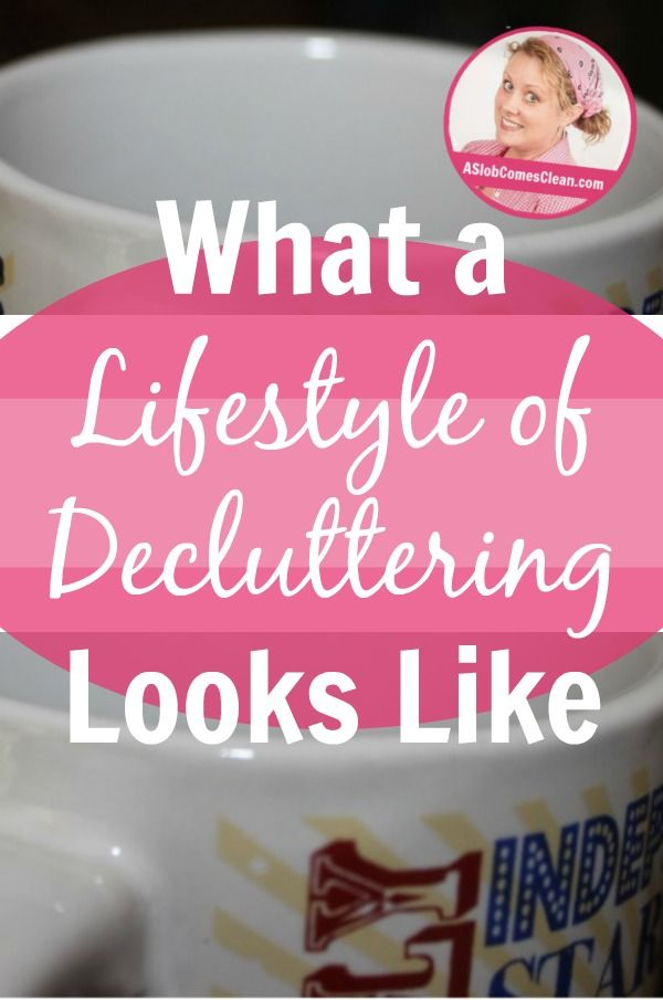 What a lifestyle of decluttering looks like pin at making your home a - Important thing consider decluttering ...
