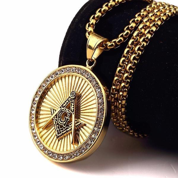 New Masonic Hip Hop Pendant