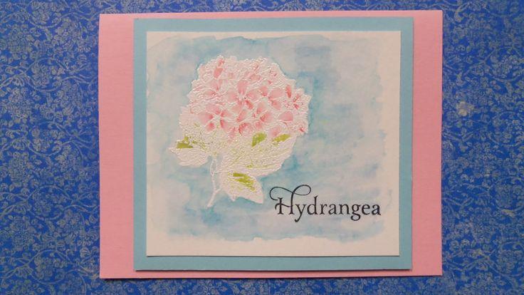 Her Peaceful Garden: IBS Hydrangea - Distress Watercoloring Technique #scrappingreatdealsmood @SGDstore