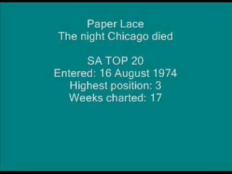 Paper Lace - The night Chicago died.wmv