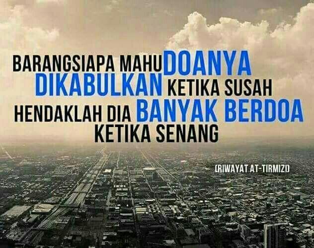 Berdoa setiap keadaan