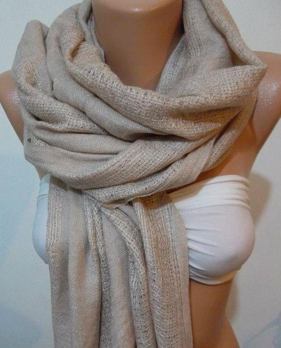 Gorgeous Scarf   Elegant  Scarf  Super quality  Soft  by womann, $18.00