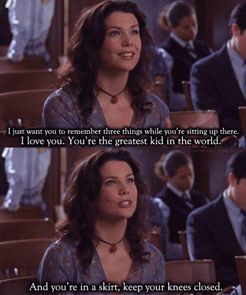 I loved Gilmore Girls