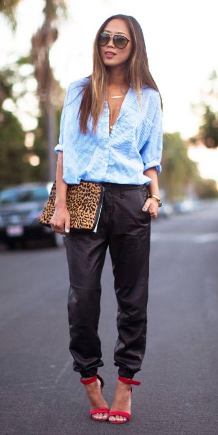 Gloria Kalil explica como usar a calça com punho, modelo esportivo que veio para dar uma graça a este inverno | Chic - Gloria Kalil: Moda, Beleza, Cultura e Comportamento
