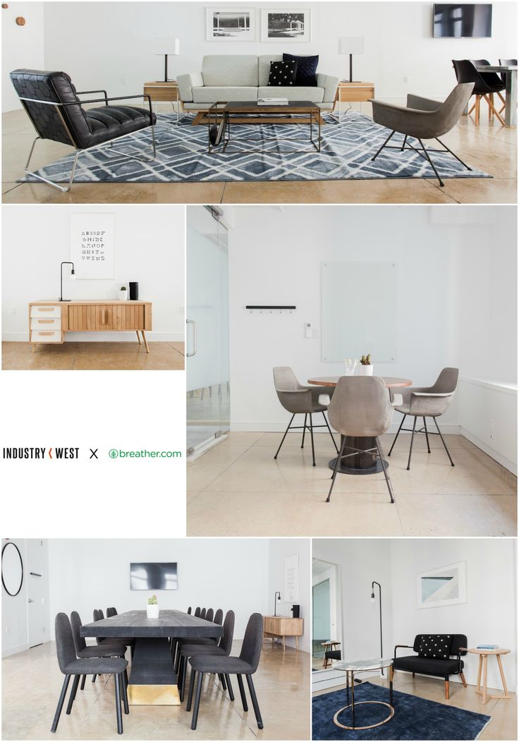 Industry West is excited to have partnered with Breather to furnish three apartments on New York City's Madison Avenue. The apartments are available for rent through Breather and also available to Industry West clients who want the opportunity to experience our collection first hand.