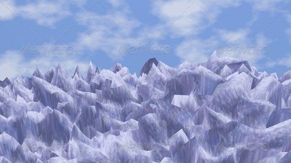 Artic ...  3d, artic, blue, cold, environment, environmental, green, ice, illustration, image, ocean, sea, water, winter
