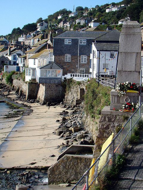 """The fishing village of Mousehole, south west Cornwall UK"""