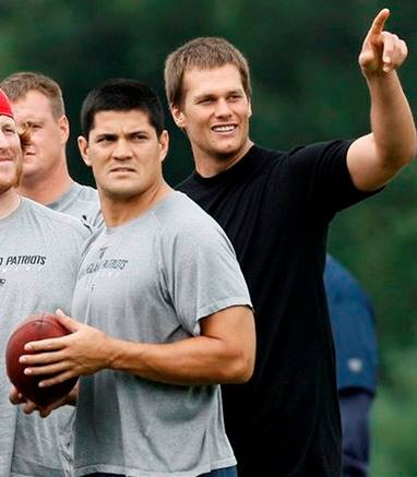 Congrats to Tedy Bruschi on being inducted in the New England Patriots hall of fame. No one represents what it means to be a New England Patriot more than him. I feel so lucky to have had the opportunity to play and learn from my good friend. His commitment to the team is something that should be looked up to. Tom Brady