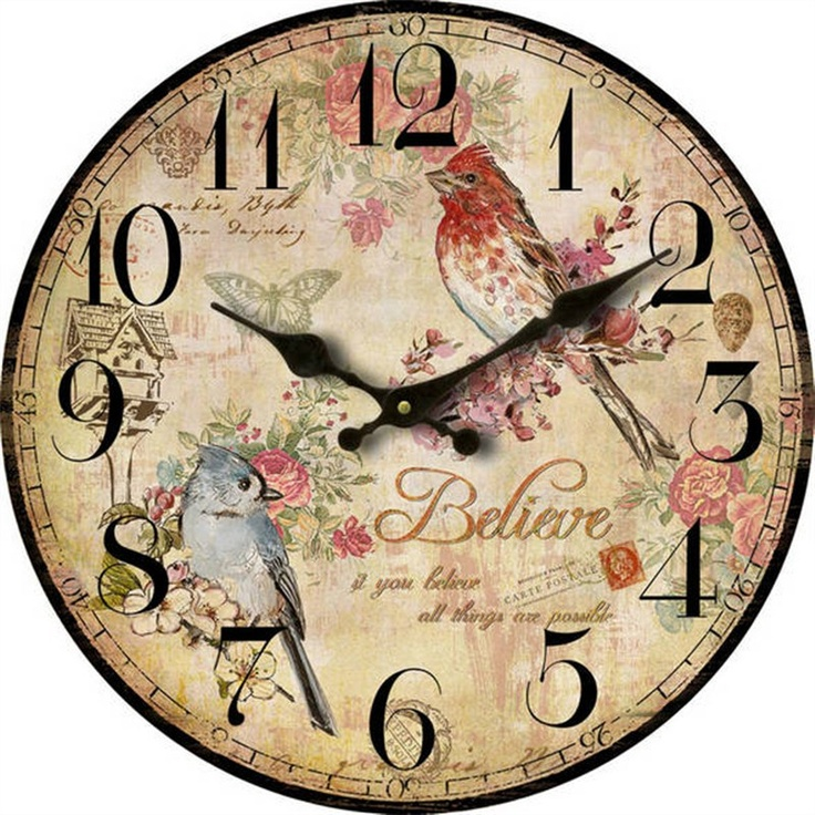 28.8CM Bird Clock, only $5.95. See more styles at: http://www.livingstyles.com.au/tbcart/pc/Hickory-Dickory-c1691.htm