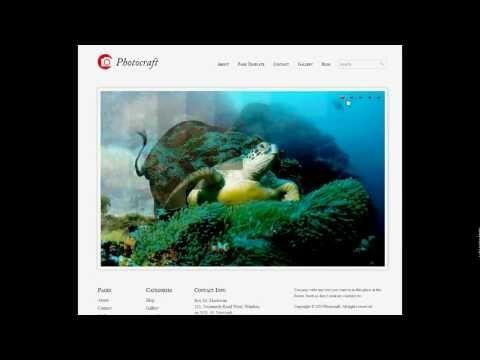 Demostración Video Página Web para Fotógrafos Autoadministrable