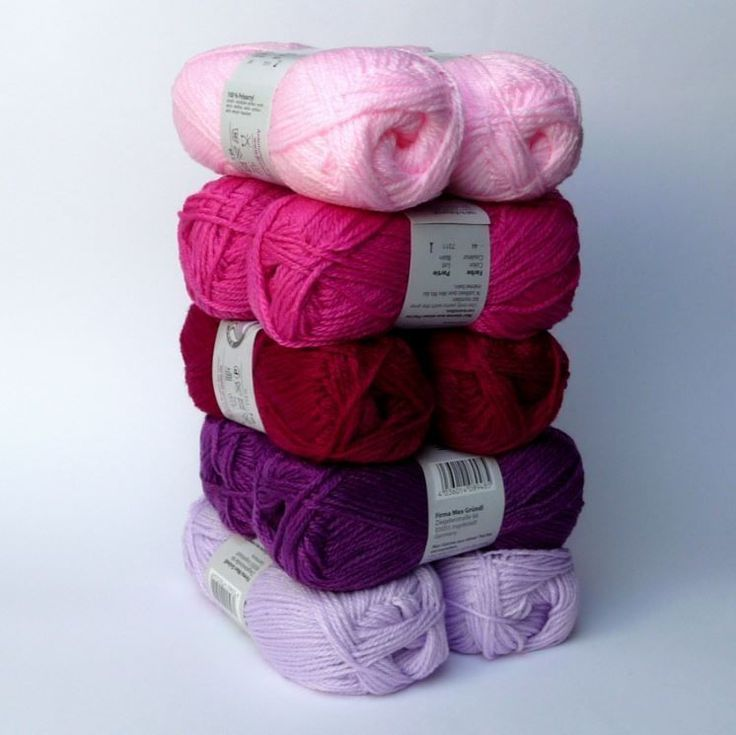 Blütenzauber 500g Bastelwolle Strickwolle Wolle zum Stricken Loops Mützenwolle