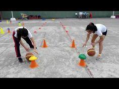 Educación Física Circuito Basquetbol 04 - YouTube