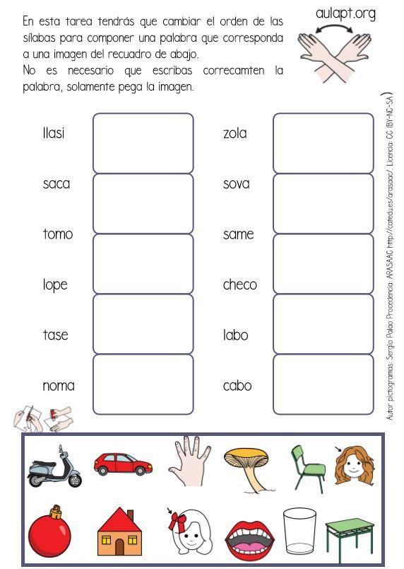 Voy a presentar dentro de unos días a mis chicos un reto ¿serán capaces de descubrir en este lío de letras que palabras hay ocultas?