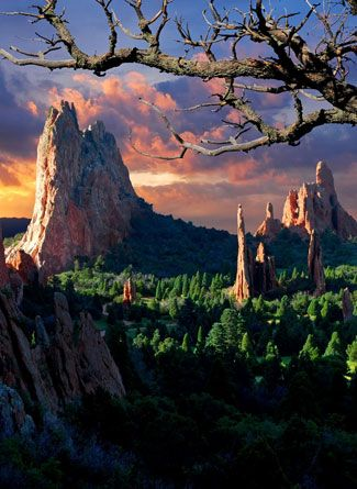 Garden of the Gods: Colorado Springs, CO