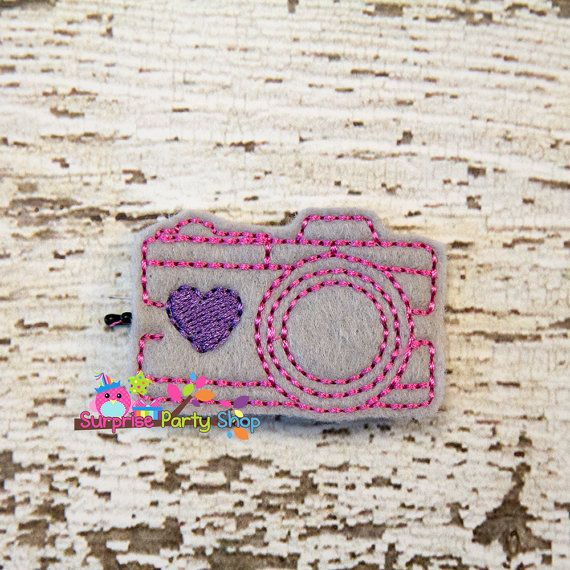 Camera Bobby Pin Buddie Hair Accessories by SurprisePartyShop